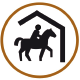 Activiteit en verblijf met als thema Paardrijden